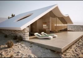 是沙漠別墅亦或是海市蜃樓?