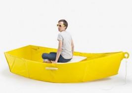 簡易折疊船,水災的好幫手