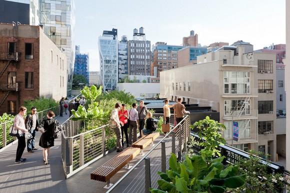 The High Line Park 紐約客的空中花園