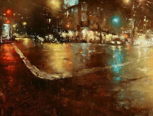 台灣畫家曾新耀筆下的舊金山