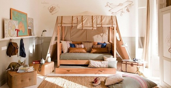 小印弟安那瓊斯的臥房設計