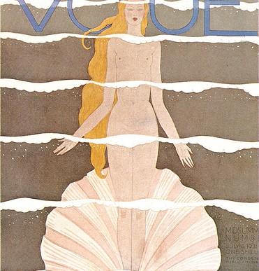 Vogue雜誌封面1909-1940