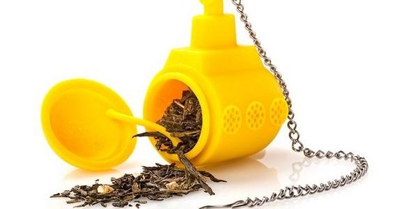 用來泡茶的黃色潛水艇