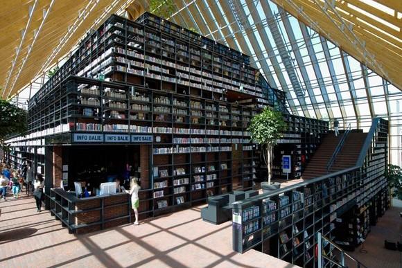 荷蘭書山圖書館