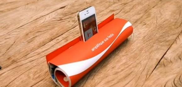 可口可樂出品:iphone擴音箱